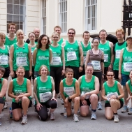 Charity Run in London