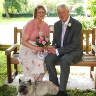 Jane and Peter's Blessing in Cambridgeshire