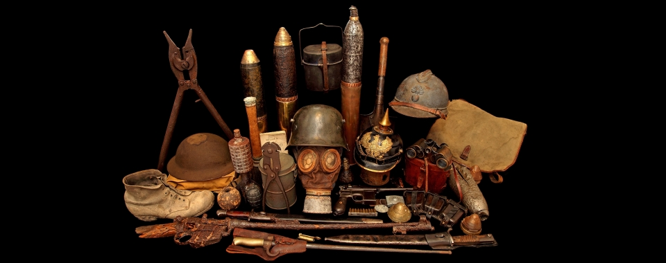 Equipment for Trench Warfare 1914-18 (D Stuart Collection)